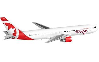 Air Canada Rouge with service to Costa Rica