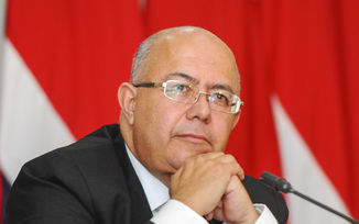 Communications Minister, Carlos Roverssi (archive image).