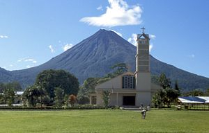The Arenal Volcano (archive photo.)