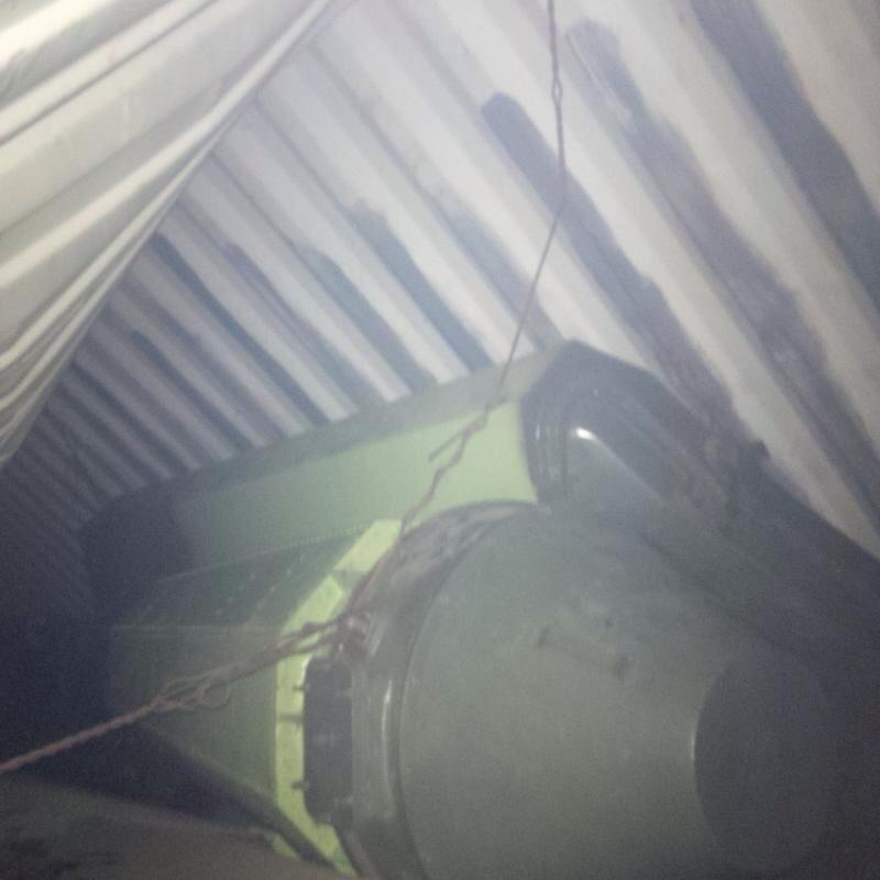 Hidden missile equipment in North Korean vessel seized in Panama Canal, posted to the Twitter account of Panamanian President, Ricardo Martinelli