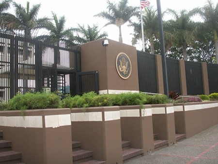 US Embassy in Costa Rica