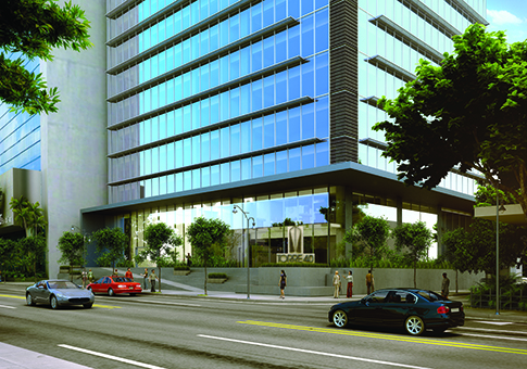 An artist's rendering of the new Torre 40.  Construction is expected to begin the first quarter of 2017.
